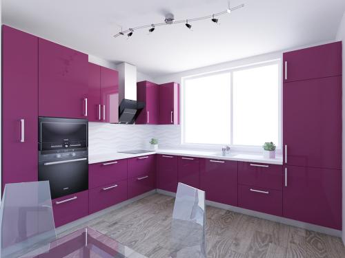 Кухня ral4006 глянец