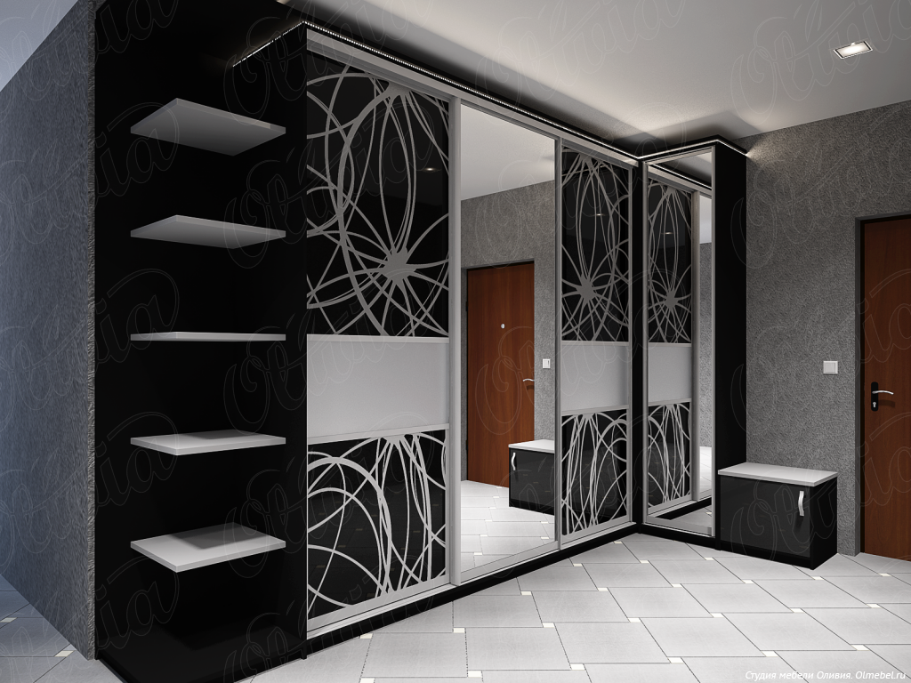 Фото проекты и дизайн шкафов купе