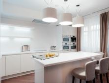 кухня белая краска